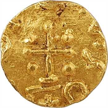 Neustrie, Charonne, trémissis, Charonne, c.570-670