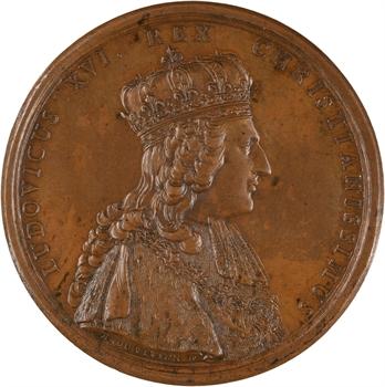 Louis XVI, sacre du Roi et vœux de la ville de Troyes, 1775 Paris