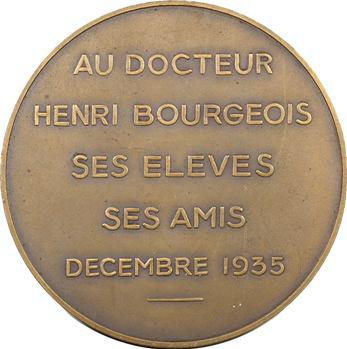 Médecine, docteur Henri Bourgeois par Masseau, 1935