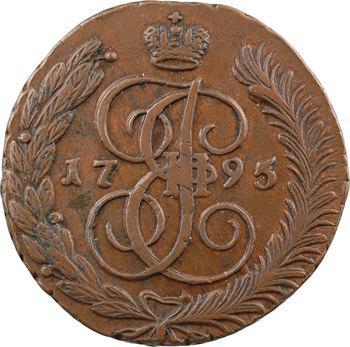 Russie, Catherine II, 5 kopecks, 1795 Annensk