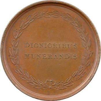 Italie, Elisa Bonaparte, prix de l'Académie de Lucques, par Galle, 1809