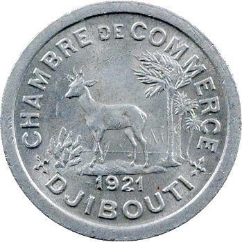 Djibouti, 5 centimes, 1921 Paris