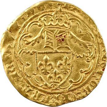 Charles VI, demi-heaume d'or, La Rochelle