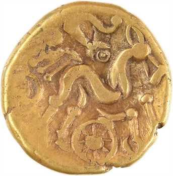 Suessions, statère d'or dit à l'ancre, c.65-35 av. J.-C