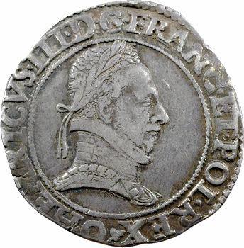 Henri III, franc au col plat, 1578 Riom