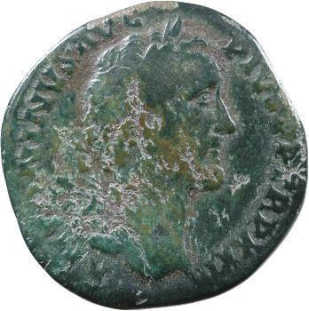 Antonin, sesterce, Rome, 158-159