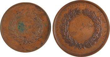 IIIe République, lot de 2 médailles de prix de piano, 1886 et 1887