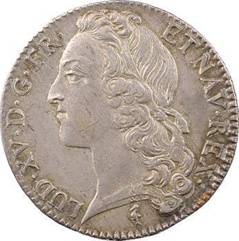 Louis XV, demi-écu au bandeau, 1748 Lille