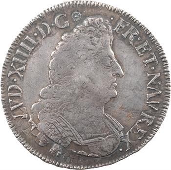 Louis XIV, demi-écu aux palmes, 1694 Troyes