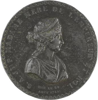 Premier Empire, cliché uniface, Marie-Lætitia, Madame Mère, s.d. Paris