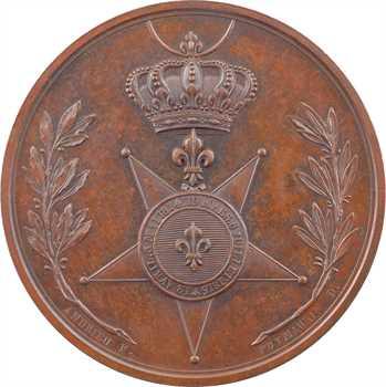 Louis XVIII, Fidélité et dévouement, Croix de l'ordre du Lys, s.d. (1816) Paris