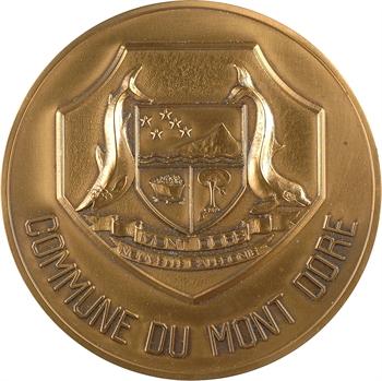 Nouvelle Calédonie, médaille de la commune du Mont Doré, s.d