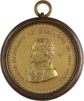 Espagne, Joseph Napoléon, roi d'Espagne, cliché uniface, s.d. (c.1815)