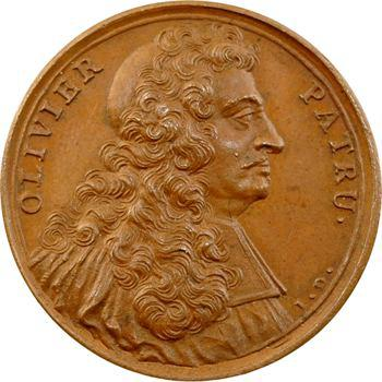 Olivier Patru, médaille par J. Dassier