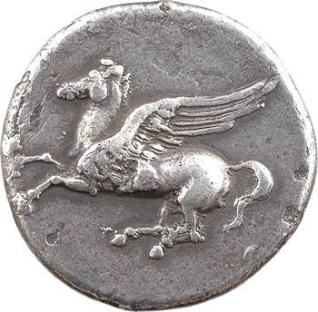 Sicile, Syracuse, époque de Timoléon à Agathoclès, statère de type corinthien, c.344-317 av. J.-C.