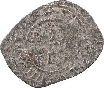 Évreux (comté d'), Charles le Mauvais, gros à l'étoile, imitation de Jean le Bon, s.d. (mars-avril 1360)