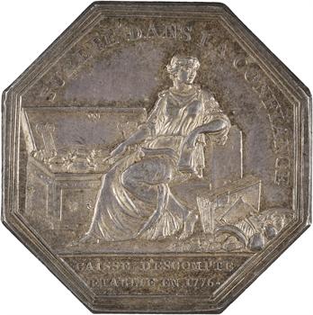 Louis XVI, Caisse d'escompte par Dupré, 1776 (avant 1781)