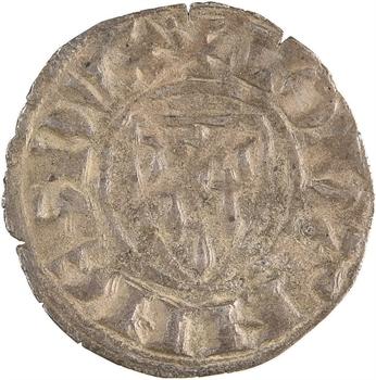 Bretagne (duché de), Jean III, denier à la croix longue, s.d. (après 1316) Saint-Brieuc