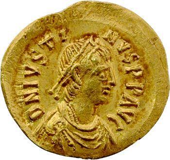 Justin, semissis, Constantinople, 518-527