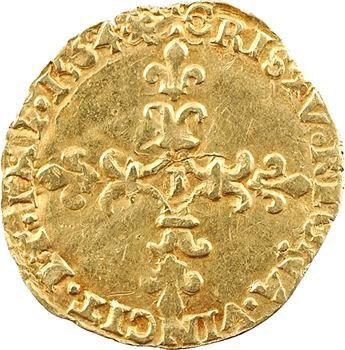 Charles IX, demi-écu d'or au soleil, 1564 Limoges