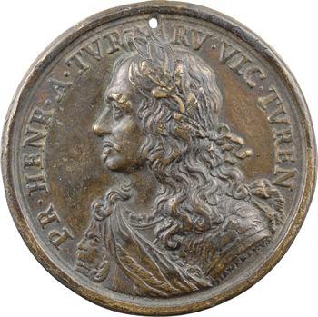 Turenne (H. de la Tour d'Auvergne, vicomte), fonte par Hamerani, s.d. (c.1675)