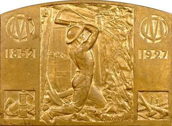 IIIe République, 75 ans de la Compagnie des Mines de houille de Courrières, par A. Mayeur, 1852-1927 Paris