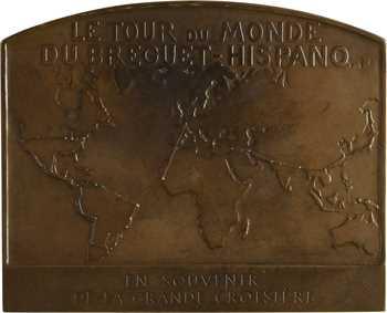 Aviation, le tour du monde du Breguet-Hispano par Costes et Le Brix, par Maillard, 1928