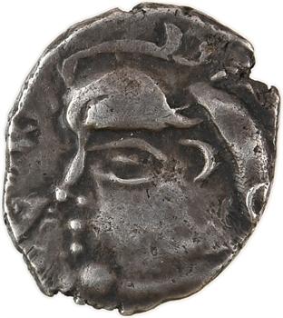 Sotiates ou Pétrocores, drachme au type de Belvès, Ier siècle av. J.-C