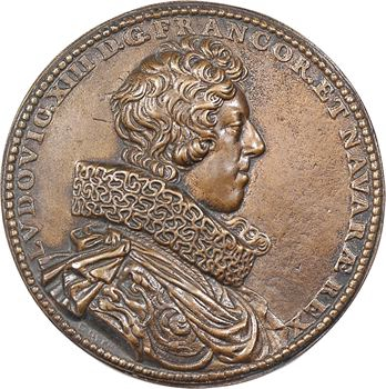 Louis XIII, fonte ancienne par Dupré, 1623 Paris