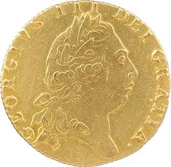 Grande-Bretagne, Georges III, guinée, 5e portrait, 1797 Londres
