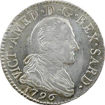 Savoie (duché de), Victor-Amédée III, 20 soldi, 1796 Turin