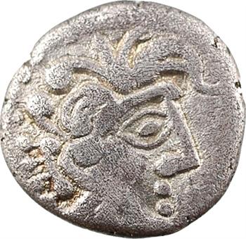 Pétrocores, drachme au sanglier monstrueux, c.80-60 av. J.-C