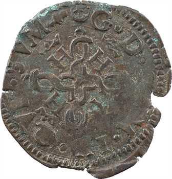 Béarn (seigneurie de), Henri II, liard à l'H, 157[8] Pau