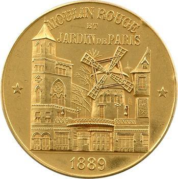 IIIe République, le Moulin Rouge et Jardin de Paris, par Roedel, 1889-1899 Paris