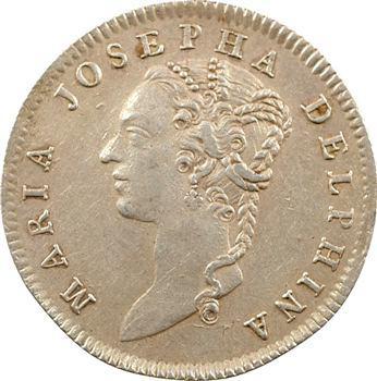 Dauphiné, Marie-Josèphe de Saxe, dauphine, 1754