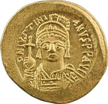 Justinien Ier, solidus, Constantinople (ou Rome ?), 1re officine, 527-565