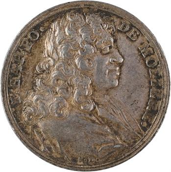 Molière (J.-B. Poquelin, dit), par J. Dassier, 1673