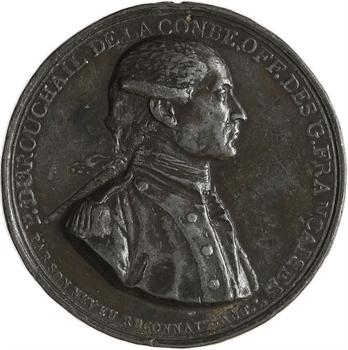 Convention (?), Durouchail de la Combe, officier Gardes Françaises (franc-maçonnerie), par Pierre Durouchail, s.d