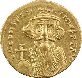 Constant II, solidus, Constantinople, 1re officine, 651-654