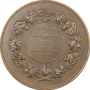 Tunisie, concours agricole de Tebourba, 1904