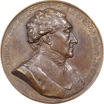Charles X, le monument au comte de Sèze, par Barre et Desboeufs, 1829 Paris