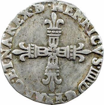 Henri IV, quart d'écu de Béarn, 1601 Morlaàs