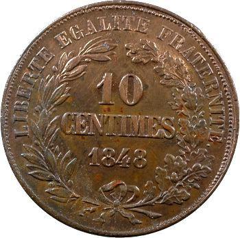 IIe République, essai de 10 centimes par Montagny, 1848 Paris