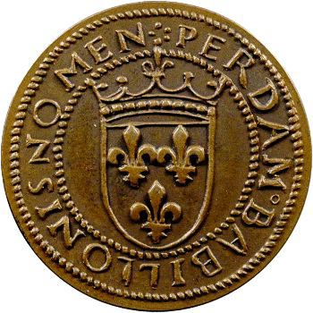 IIIe République, essai au type du ducat d'or de Louis XII, s.d. Paris