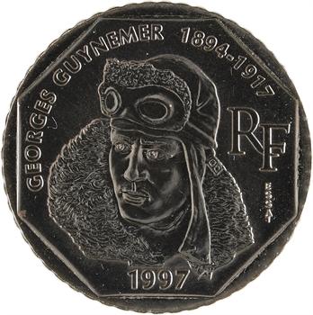 Ve République, essai de 2 francs Guynemer, 1997 Pessac
