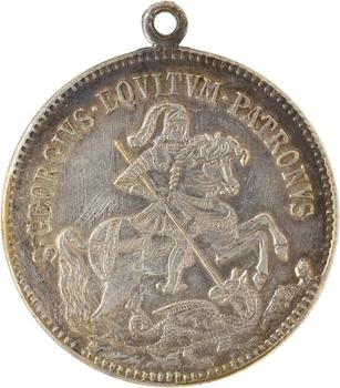 Hongrie, Kremnitz, Saint Georges combattant le dragon, s.d