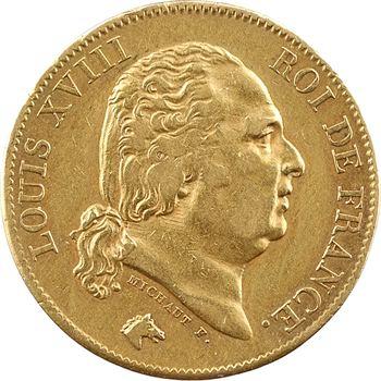 Louis XVIII, 40 francs, 1820 Paris