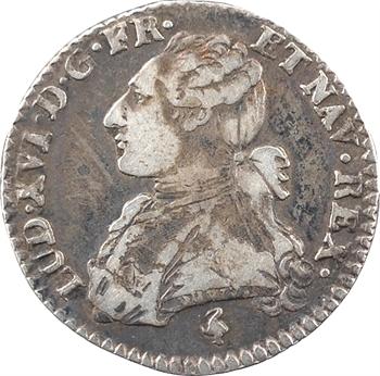 Louis XVI, dixième d'écu aux branches d'olivier, 1780/78, 1er semestre, Paris