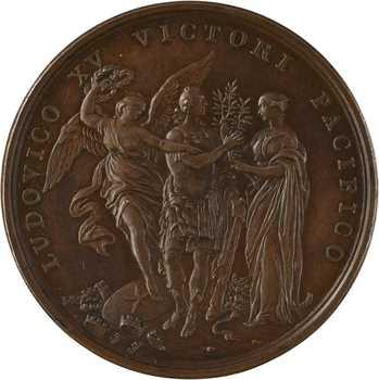 Louis XV, la Paix d'Aix-la-Chapelle, 1748 Paris