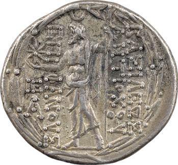 Syrie, Antiochos VIII, tétradrachme, Antioche, c.121-113 av. J.-C
